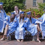 Carolina Graduation Portrait UNC-Chapel Hill