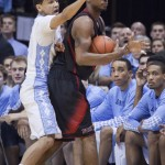 Marcus Paige forces NC State to call a timeout.