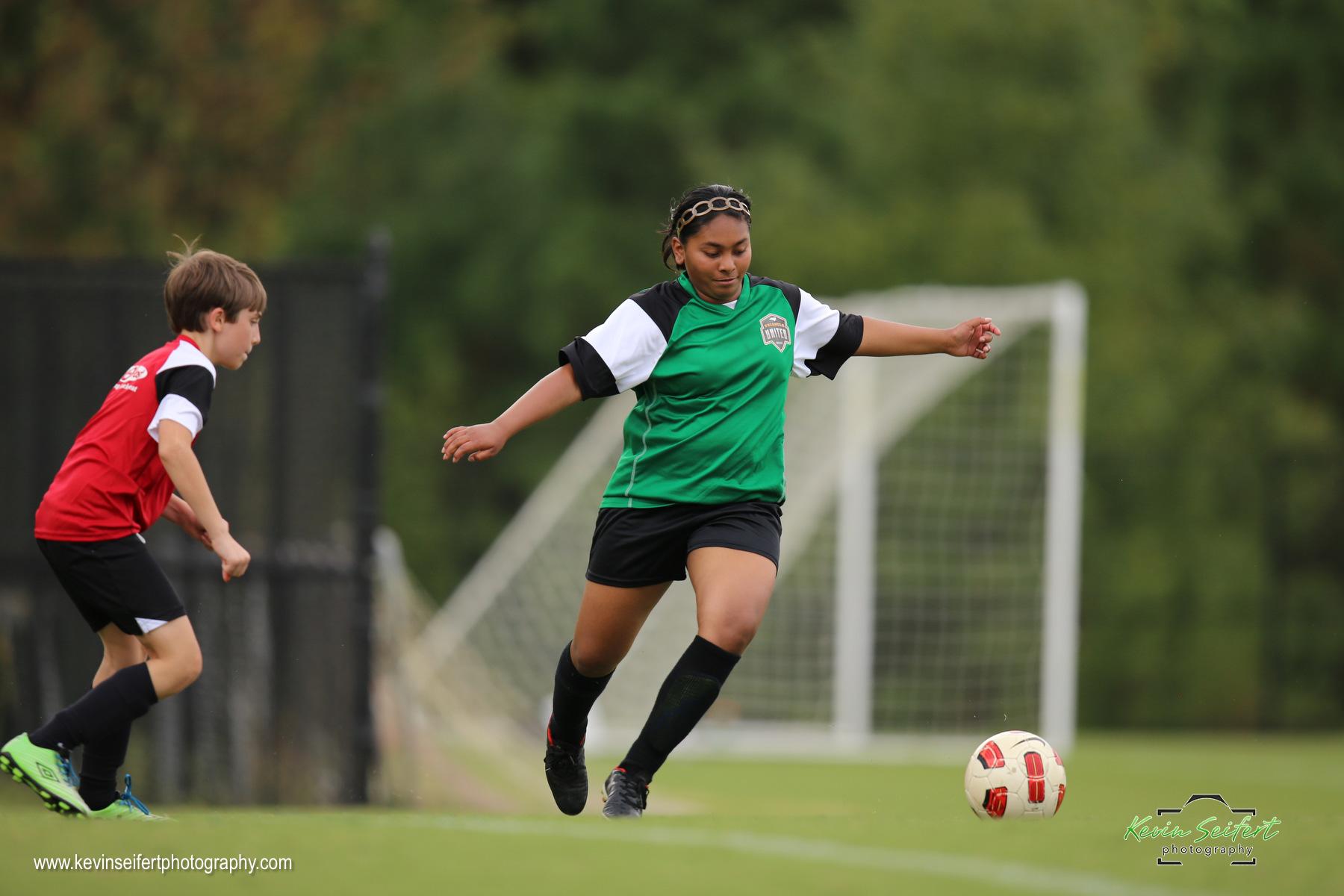 Green Squirrels U-15 Youth Soccer Woodcroft Triangle United