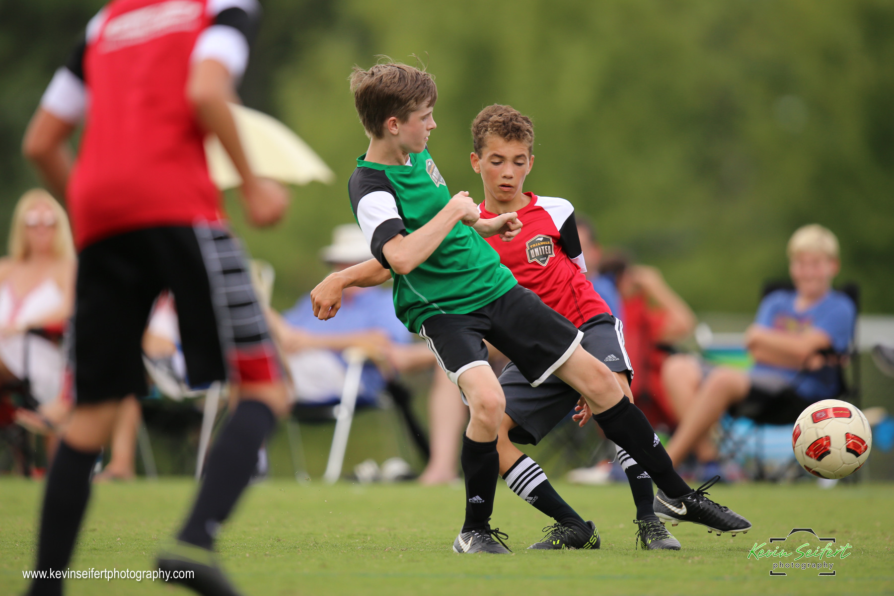 Green Squirrels U-15 Youth Soccer Woodcroft Triangle United